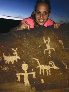 Hiking Petroglyphs